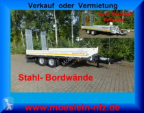 Möslein Neuer Tandemtieflader trailer used heavy equipment transport