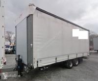 Reboque cortinas deslizantes (plcd) Fliegl TPS 118 Edscha Gardine Planenanhänger