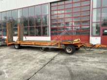 Goldhofer heavy equipment transport trailer 2 Achs Tiefladeranhänger