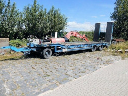 Heavy equipment transport trailer T 3 T 3 mit hydr. Rampen, Verbreiterbar auf 3m