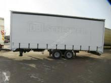 Fliegl tarp trailer TPS 100 Tandem Durchlader, Gardine