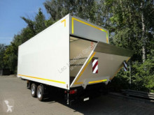 Pótkocsi Möslein Tandem Koffer mit Ladebordwand 1,5 t und Durchl használt furgon