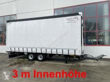 Pótkocsi Möslein Tandem Planenanhänger, 3 m Innenhöhe-- Neuwerti használt ponyvával felszerelt plató