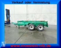 Müller-Mitteltal Tandem- Muldenanhänger trailer used container