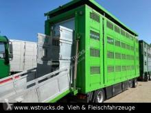 Menke Menke 4 Stock Ausahrbares Dach Vollalu Trnken trailer used livestock trailer