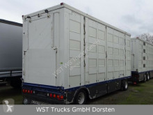 Menke livestock trailer trailer Menke 4 Stock Vollalu Tränken Hubdach