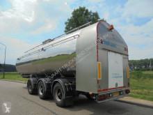 Magyar Milk Tanktrailer / 34.700 L / 2x Steering / Pump / NL Trailer semi-trailer used food tanker