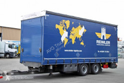 Reboque caixa aberta com lona Schmitz Cargobull Schmitz ZCS 18 Tandem Pritsche Jumbo Hubdach