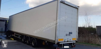 Przyczepa Samro furgon furgon drewniane ściany używana