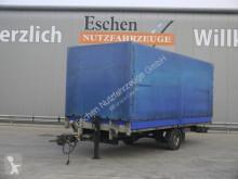 Přívěs Spier ZPL155 Anhänger Pritsche / Plane, BPW-Achsen savojský použitý