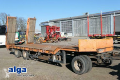 Langendorf TUE24/100-3, verbreiterbar, doppelte rampen,30to trailer used heavy equipment transport