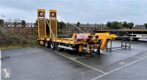Trouillet REMORQUE PORTE ENGIN TROUILLET trailer used heavy equipment transport