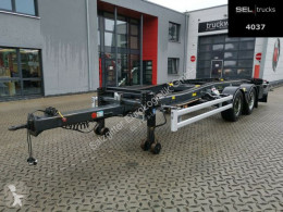 Hüffermann container trailer HTSA 18.77 LS / 50 mm