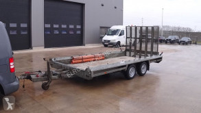 Hulco TERRAX-2 (3500 KG / 394 X 180 CM / BELGIAN TRAILER) trailer used flatbed