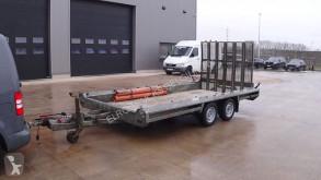 Anhænger Hulco TERRAX-2 (3500 KG / 394 X 180 CM / BELGIAN TRAILER) flatbed brugt