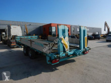 Louault R2CIA trailer used heavy equipment transport