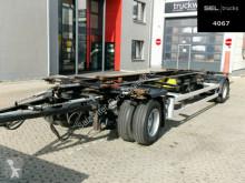 Remolque Krone AZ / Lafette / SAF / 40 mm / German chasis usado