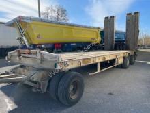 ACTM Remorque Porte engin ACTM 3 essieux trailer used heavy equipment transport