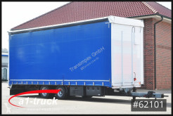 Krone tarp trailer Krukenmeier TLP 18 Jumbo, verzinkt Hubdach
