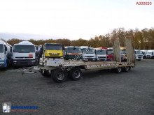 Robuste Kaiser 4-axle lowbed drawbar trailer trailer used heavy equipment transport
