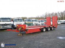 Aanhanger Chieftain lowbed / platform drawbar trailer 25 t + steering axle tweedehands dieplader
