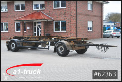 Hüffermann hook arm system trailer HSA 18.70, Abrollanhänger, HU 07/2021