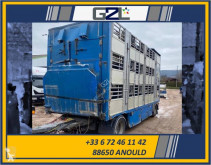 Pezzaioli BETAILLERE 3 ETAGES 2 ESSIEUX *ACCIDENTE*DAMAGED*UNFALL* trailer damaged livestock trailer