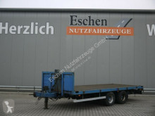 Flatbed trailer Maximum TP1200L Tandem Plattform, TwistLock,SAF