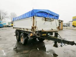 Aanhanger platte bak boorden Schmitz Cargobull ZKD 18 ZKD 18, Alu-Bordwände, ca. 10,3m³