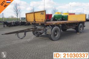 Plateau trailer used flatbed