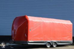 Släp Titan Challenger trailer skjutbara ridåer (flexibla skjutbara sidoväggar) begagnad