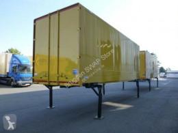 Krone box container Jumbo Wechselkoffer Heck Portaltüren