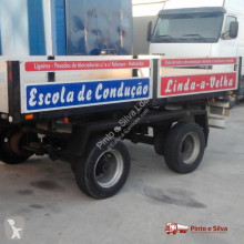 Tecniduplo 8000 K trailer used flatbed