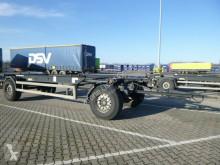Släp Krone Box Carrier AZW 18 eL3B9 chassi begagnad