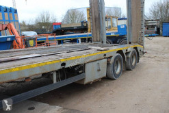 Trax trailer used heavy equipment transport