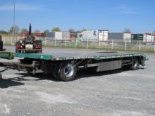 H&W heavy equipment transport trailer Tieflader HWZPAP2076T Tiefladeranhänger ausziehbar