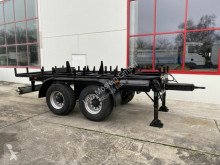 Remorque plateau 18 t Tandem- Kran- Ballast Anhänger-- Neuwertig