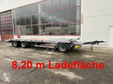 Remolque portamáquinas Möslein 3 Achs Tieflader gerader Ladefläche 8,10 m,Neuf