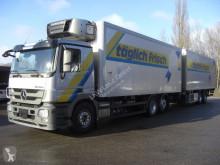 Lastbil med släp Mercedes 2544L KOMPLETTER ZUG kylskåp begagnad
