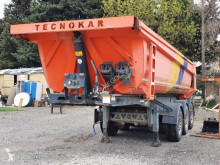 Släp TecnoKar Trailers lastvagn bygg-anläggning begagnad