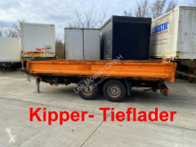 Remorque Tandemkipper- Tieflader benne occasion