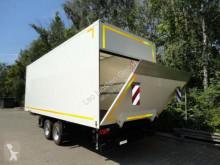 Släp transportbil Möslein Tandem Koffer mit Ladebordwand 1,5 t und Durchl