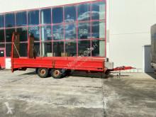 Tandemtieflader Anhänger gebrauchter Maschinentransporter
