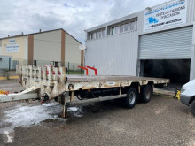 Louault trailer used flatbed