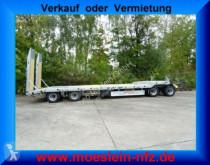 Remolque Möslein 4 Achs Tieflader- Anhänger mit ABS-- Neufahrzeu portamáquinas usado