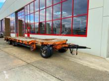 Müller-Mitteltal heavy equipment transport trailer 3 Achs Tiefladeranhänger