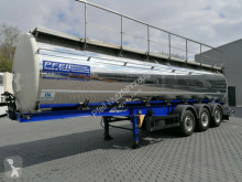 Berger food tanker semi-trailer Santi Lebensmitteltank- 30.000 l- 3 Kammern- TOP