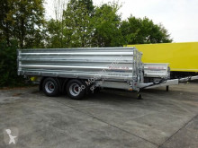 Möslein three-way side trailer 19 t Tandem 3 Seiten Kipper TiefladerAufsatzbor