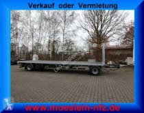 Möslein 2 Achs Jumbo- Plato- Anhänger trailer used flatbed