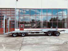 Möslein 4 Achs Tieflader- Anhänger, Neufahrzeug trailer used heavy equipment transport